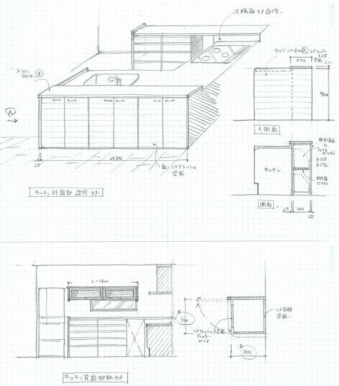 キッチン収納提案