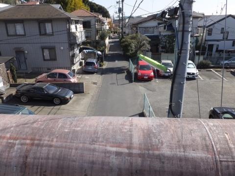 荒玉水道みち・野田橋水管橋