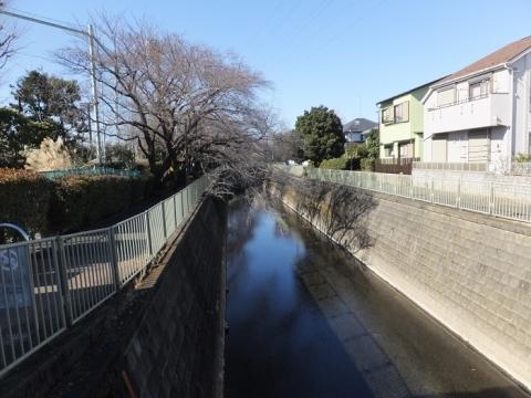 神田橋より神田川上流を望む