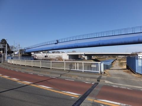 企業団目久尻川水管橋