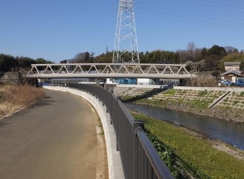 横須賀水道有馬系統目久尻川水管橋