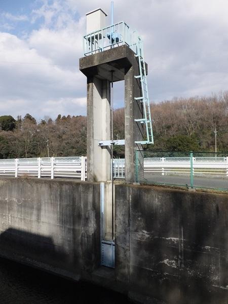 栗原遊水地排水樋管ゲート