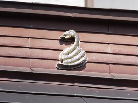 白髪弁財天社・蛇の紋章