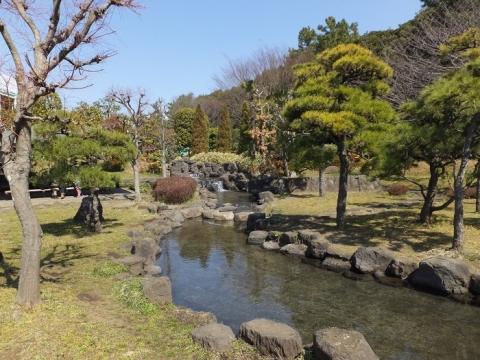 水の広場内庭園