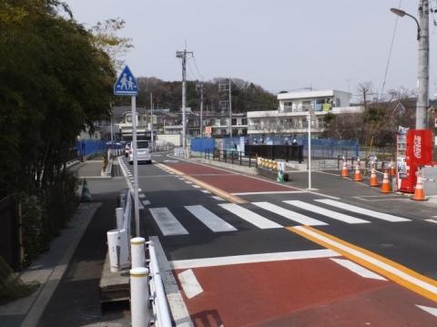 鶴見川の宮川橋