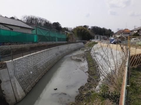鶴見川・宮川橋上流