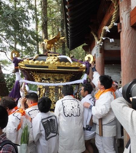 2017与瀬神社例大祭御神輿