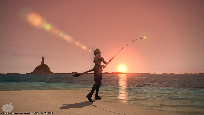 釣り過ぎた週末~水辺の写真編~【FF14】