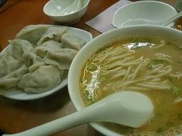 DSC_0258京香餃 担々麺と水餃子