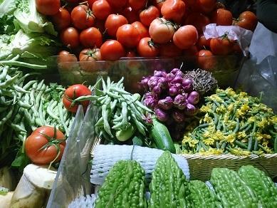 DSC_0016街市野菜 きゅりの花