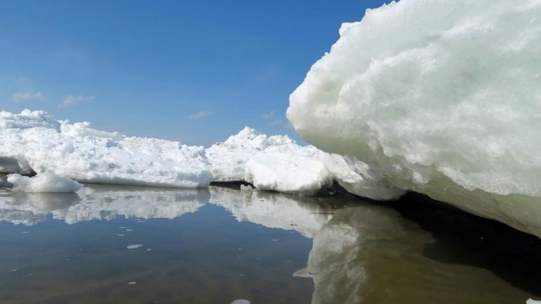斜里の流氷