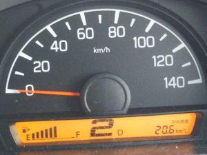 DA17V燃費20.6km/l