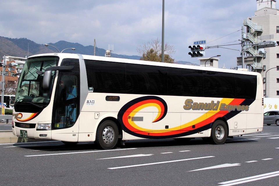 四国高速バス か327