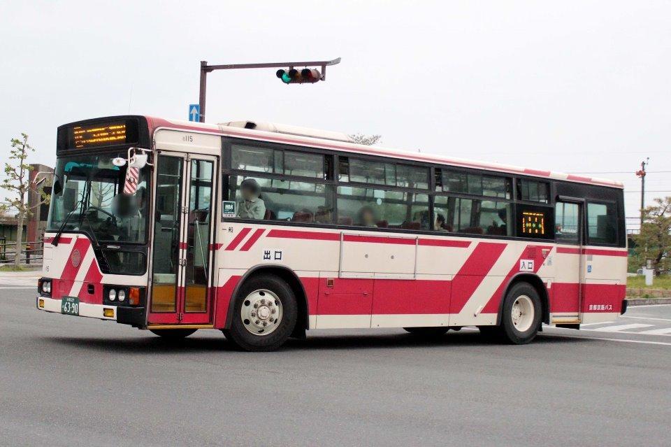 京都京阪バス 6115