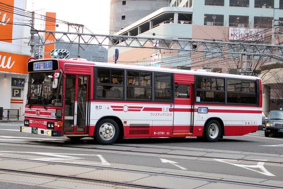 京阪バス W-3791