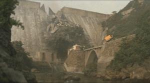 対メガロ ダム決壊