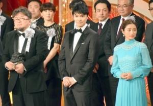 『第40回日本アカデミー賞』の授賞式の模様『シン・ゴジラ』