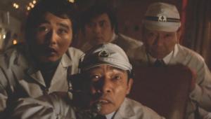 メカゴジラの逆襲 加藤茂雄さん(中央)