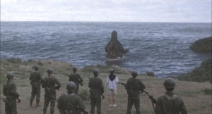 vsビオランテ ゴジラ若狭湾へ去る