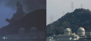vsビオランテ 実景(高浜原発)比較