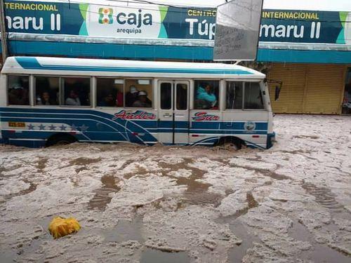ペルーの雹嵐2