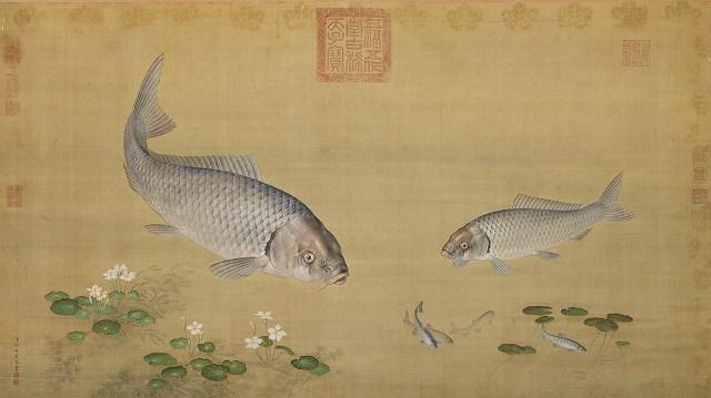 s-z 郎世寧 魚藻