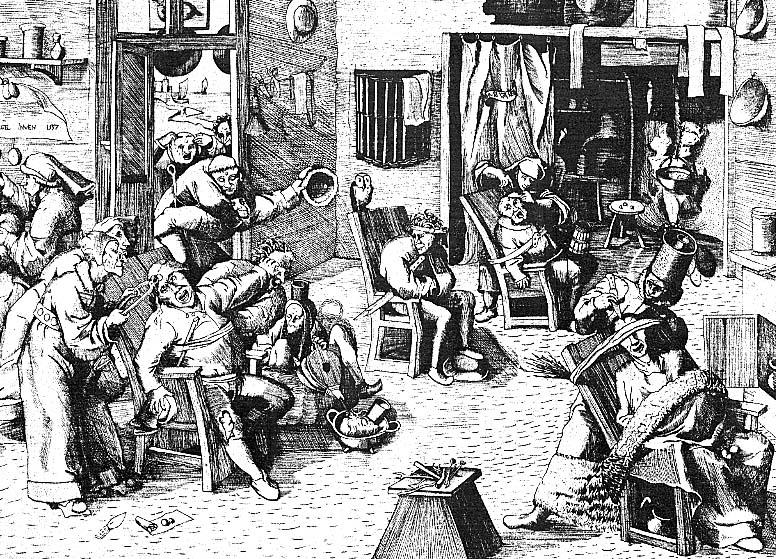 zzd 銅版画 銅版画(彫版師不詳)1557年