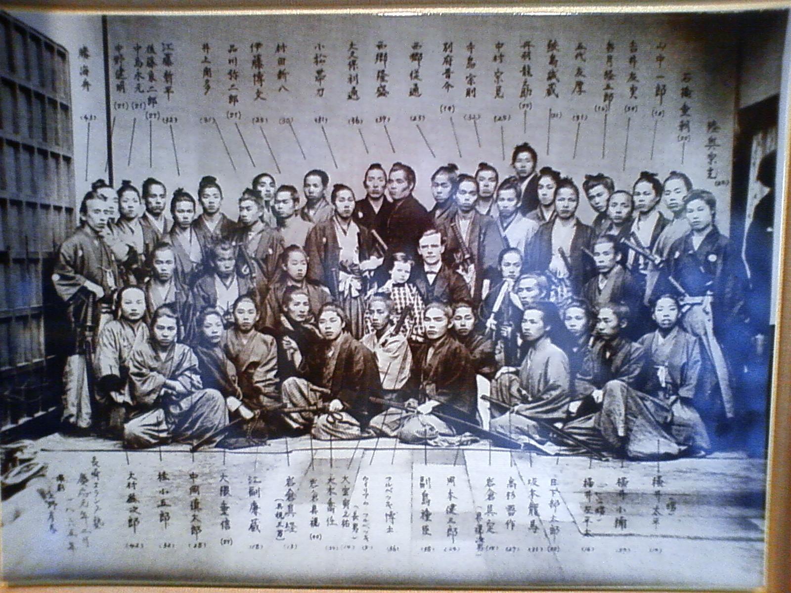 zzd 幕末の志士達と上野彦馬