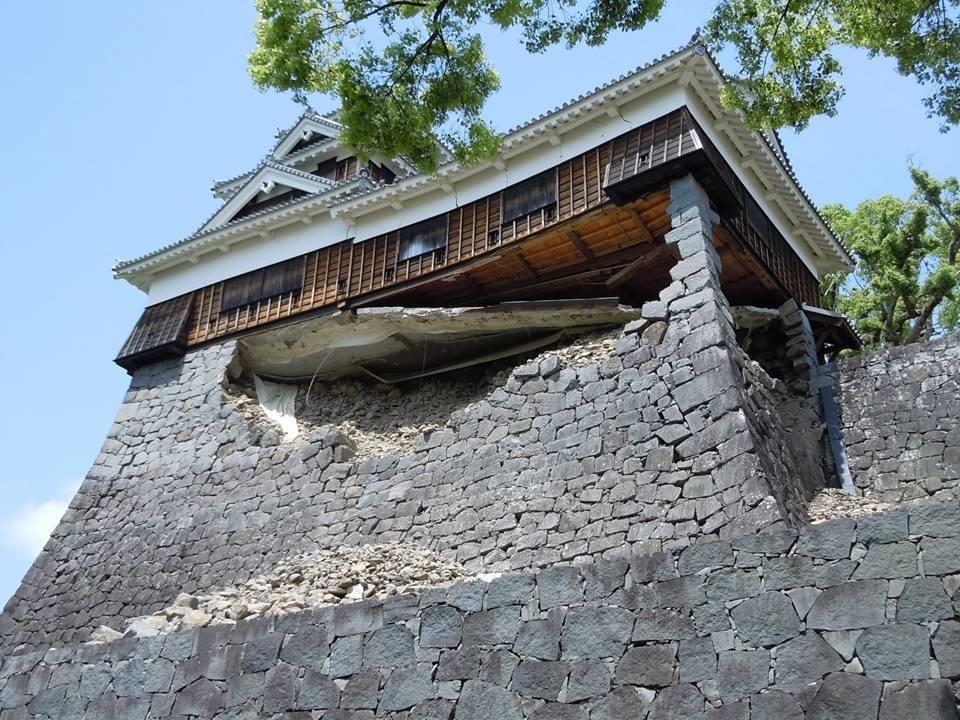 zzz 熊本城が地震で損壊