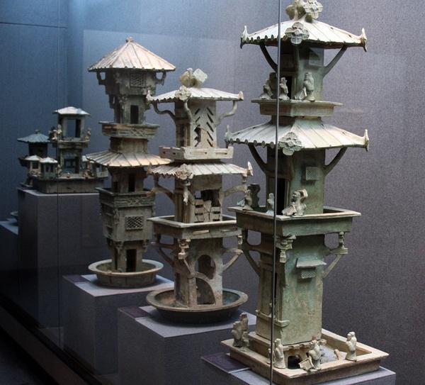 x m 古代中国の明器c