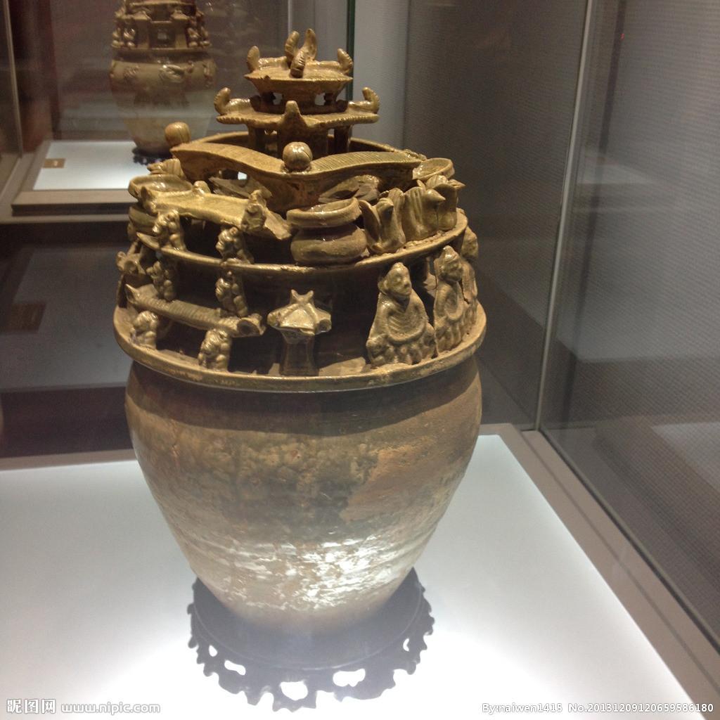 x m 古代中国の明器 神亭壺or魂瓶