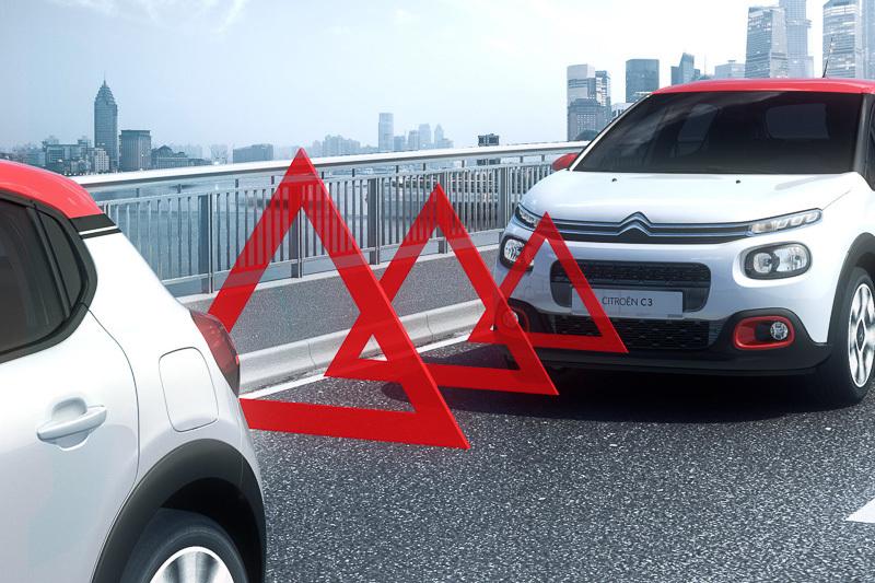 歩行者も検知する「アクティブ・セーフティ・ブレーキ」を採用