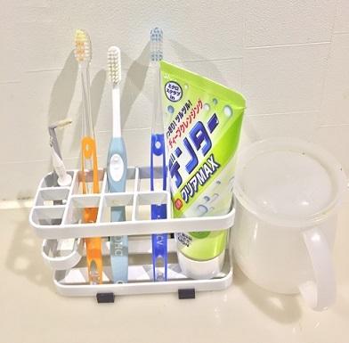 前の歯ブラシスタンド理想