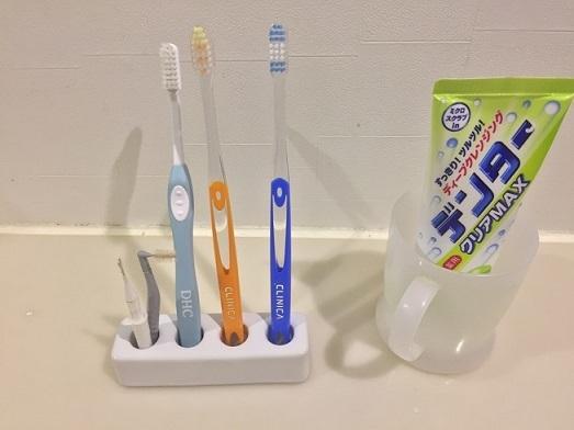 今の歯ブラシスタンド