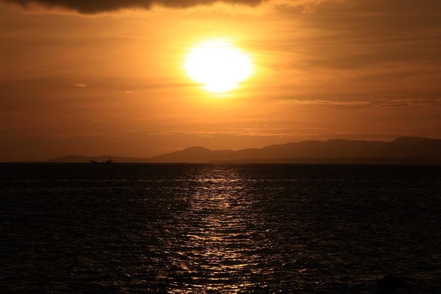 夕日スポット、2