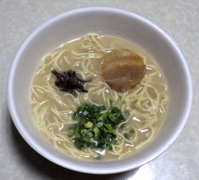 2/6発売 明星 バリカタ 長浜風とんこつ(できあがり)