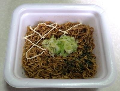 3/20発売 低糖質麺 はじめ屋 こってりソース焼そば(できあがり)