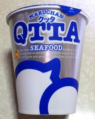 3/27発売 QTTA SEAFOODラーメン