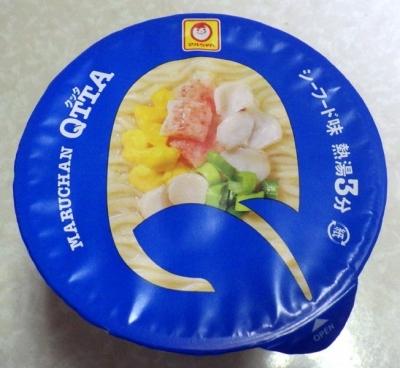 3/27発売 QTTA SEAFOODラーメン(ふたのデザイン)
