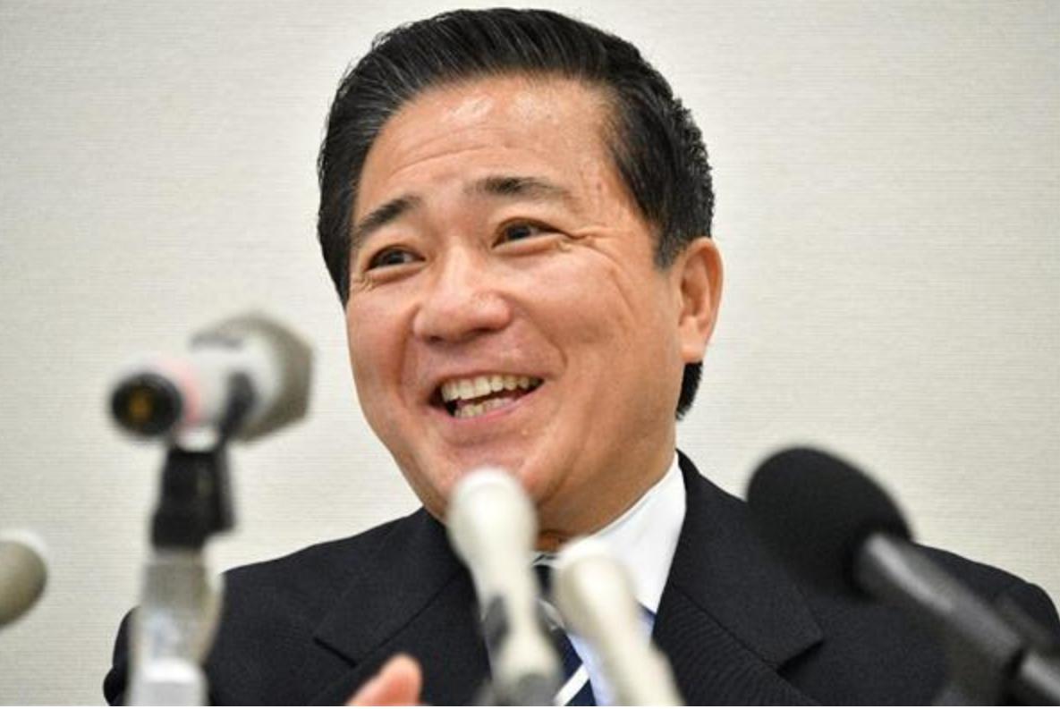 長島議員離党会見
