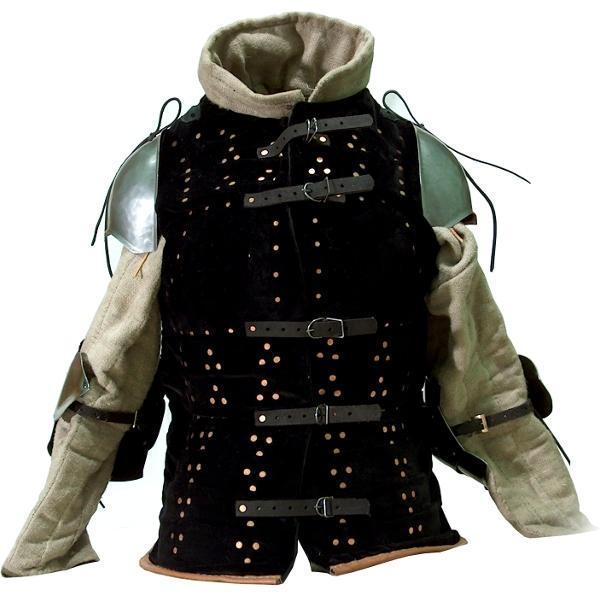 ブリガンディは胸部や胴体を守る鎧の一種