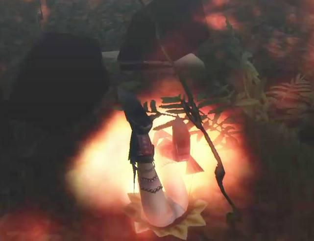 チャチャブーに太腿を素材として狙われるハンターの話