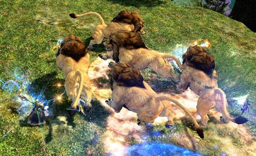 ライオン軍団