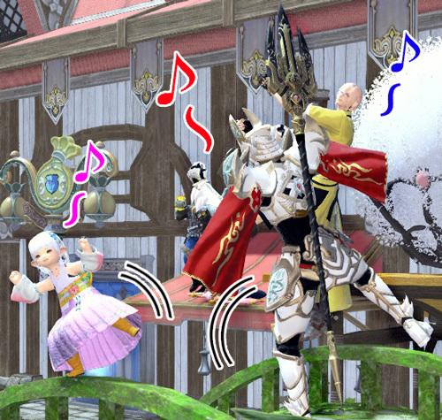変な踊りトリオ