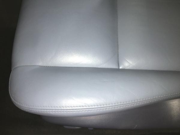 レザーシート 劣化ひび割れ補修 ランドクルーザー プラド