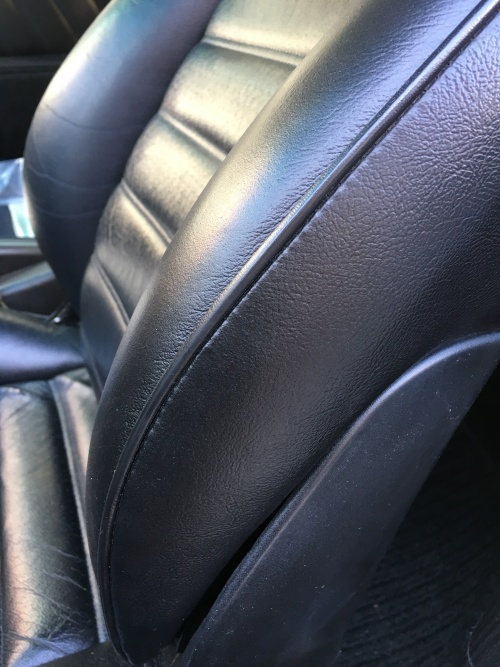 レザーシート 擦れ・破れ・ひび割れ補修 ポルシェ964