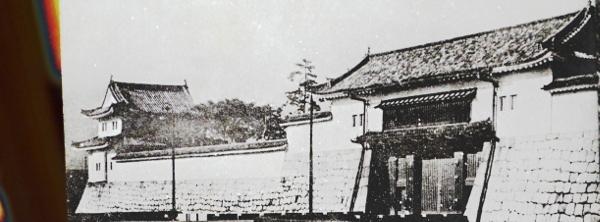 戦前の二条城