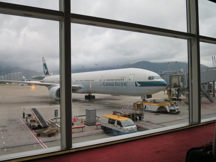 香港空港 キャセイパシフィック