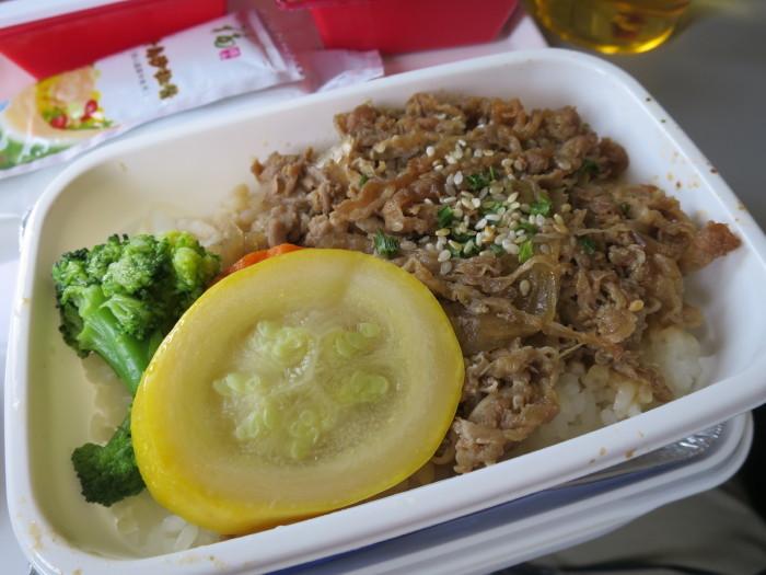 JAL 機内食 上海-成田
