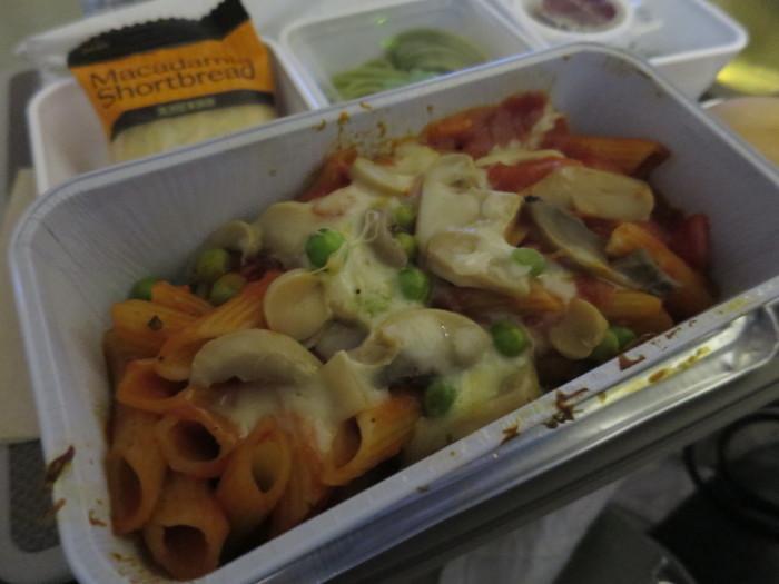 キャセイパシフィック JL7074 機内食